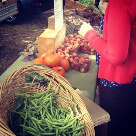 kyneton farmers market vegetables